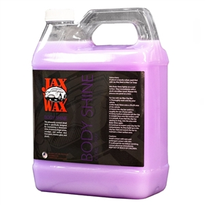Jax Wax Body Shine Showroom Spray Wax 1 Gallon