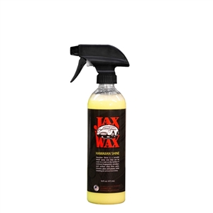 Jax Wax Hawaiian Shine Spray Car Wax 16 Oz