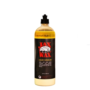 Jax Wax Liquid Carnauba Paste Wax 32 Ounce