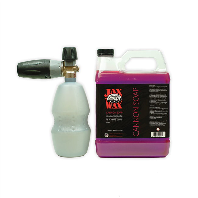 Foam Cannon Soap >> Jax Wax Mtm Pf22 Foam Cannon Cannon Soap 1 Gallon The Auto