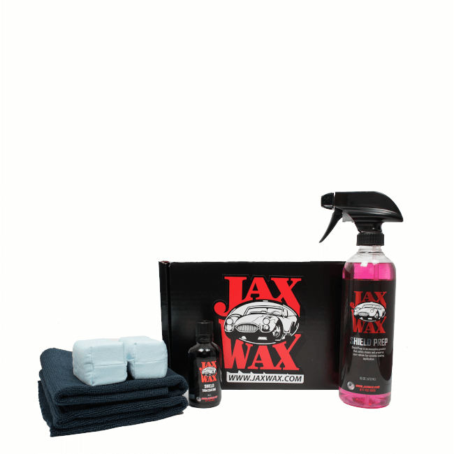 Jax Wax Shield Trim Coating Kit-STCK-2T